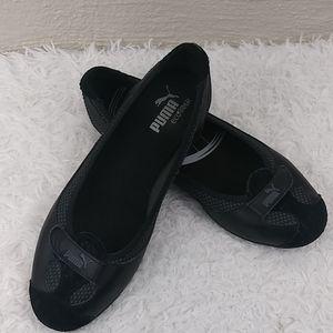 Puma eco ortholite Black Slip On Athletic Loafers